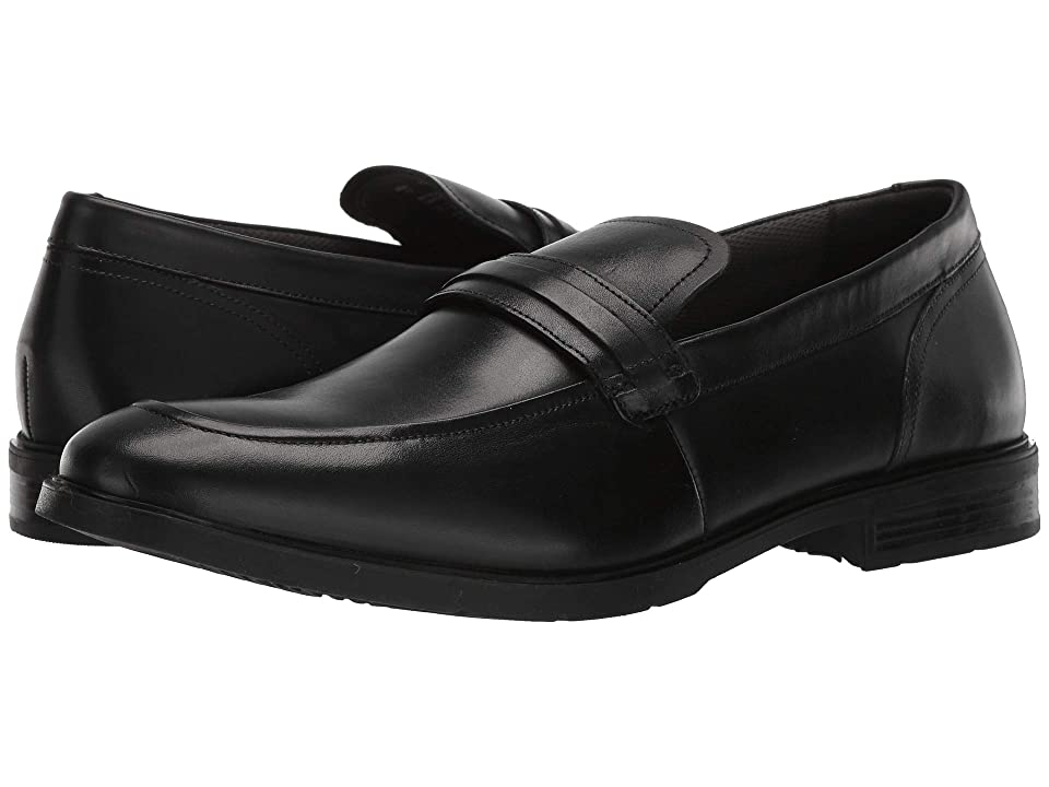 13dfb64494 Hush Puppies Advice MT Slip-On (Black Leather) Men s Slip-on Dress Shoes