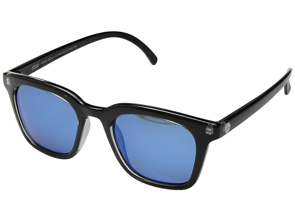 Sunski Moraga (Black/Aqua) Sport Sunglasses