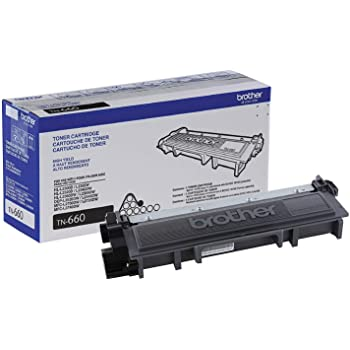 Brother Genuine High Yield Toner Cartridge, TN660, Replacement Black Toner, Page Yield Up To 2,600 Pages, Amazon Dash Replenishment Cartridge