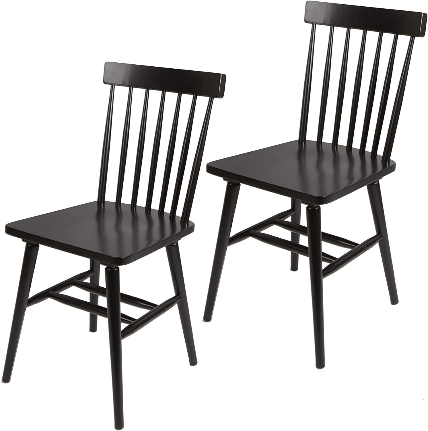 Gerald High Back Dining Free Shipping New Las Vegas Mall Chairs Black of Set 2