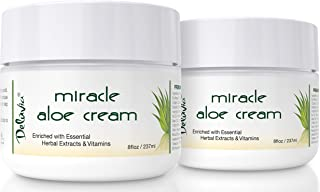 Miracle Aloe Vera Moisturizing Cream Face and Body Moisturizer Lotion Day and Night..