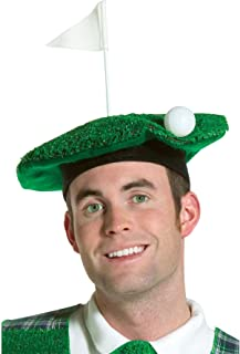 Adult Lightweight Hole-In-One Golf Beret Costume