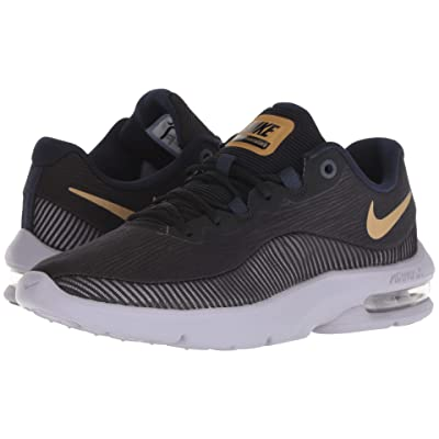 Nike Air Max Advantage 2 (Black/Metallic Gold/Obsidian) Women