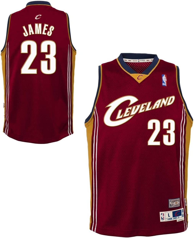 Amazon.com : Genuine Stuff Cleveland Cavaliers Youth Lebron James ...