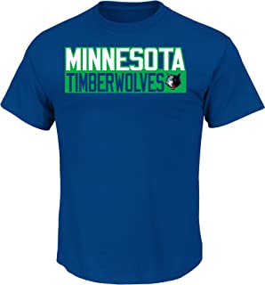 Andrew Wiggins Minnesota Timberwolves #22 NBA Men's Vertical Name & Number T-Shirt Blue