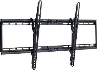 VonHaus TV Bracket Wall Mount with Tilt- for 32-65 inch LCD LED Plasma Flat Panels – Flat to Wall - Heavy Gauge Reinforced Steel