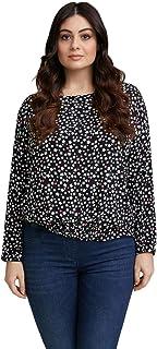 Fiorella Rubino : Blusa con Stampa Stelle Donna (Plus Size)