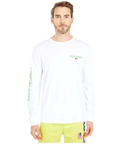 Polo Ralph Lauren Classic Fit Graphic Tee (White) Men