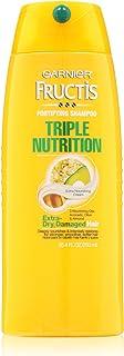 Garnier Fructis Triple Nutrition Creamy Shampoo, 25.40-Fluid Ounce