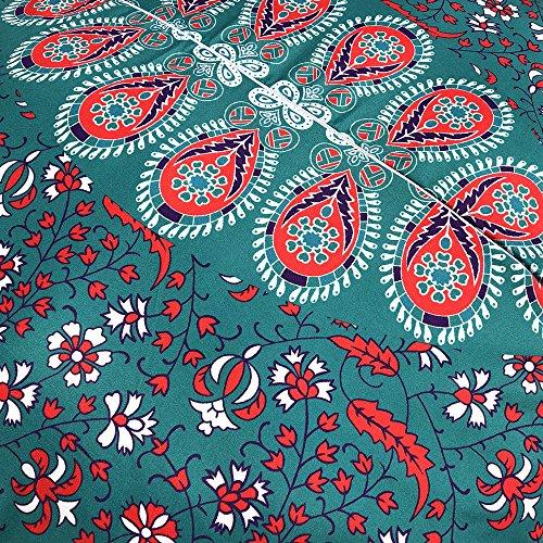 Hink Grand Mandala Oreillers de Sol Rond Bohème Méditation Housse de Coussin Ottoman Pouf Décoration Maison Produits Ménage Gros Sales