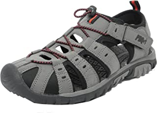 PDQ M0095F Mens Casual Grey Hiking Sports Sandals Summer Shoes