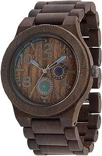New We Wood Kardo Chocolate Natural Hypo-Allergenic Wood Watch
