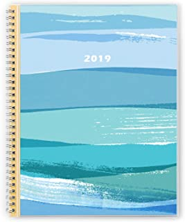 2019 Monthly Planner, Personal Schedule Organizer, January 2019-December 2019, Thick Paper, Twin-Wire Binding, 8.5 x 11 Inches