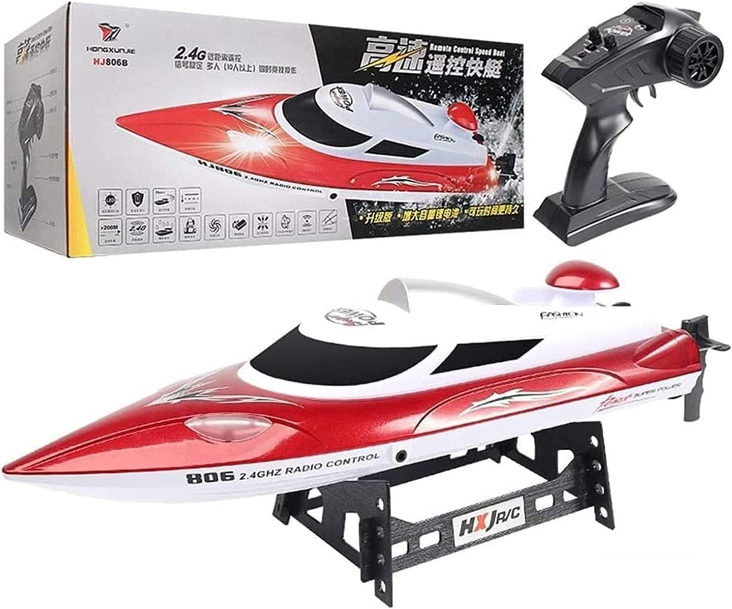 shop XUERUIGANG 2.4Ghz High Speed RC Racing Control Finally popular brand Remote Boat-18mph