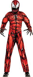 Carnage Halloween Costume for Boys, Venom 2, Includes Jumpsuit, Plastic Mask and Gloves