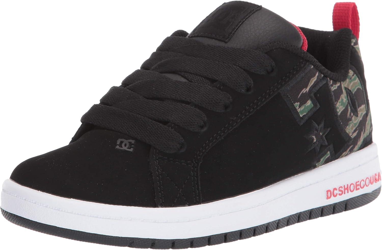 DC Unisex-Child Court Skate Shoe It is very Max 40% OFF popular Graffik