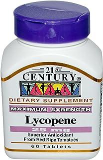 21st Century Lycopene 25mg Maximum Strength 60 Tablets