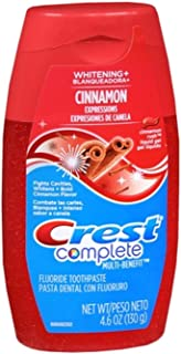 Crest Whitening Expressions Toothpaste Liquid Gel Cinnamon Rush 4.60 oz (Pack of 2)