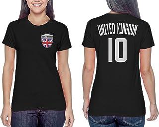 United Kingdom Soccer Jersey - British Ladies T-Shirt