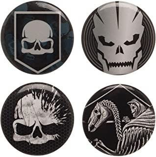 Call of Duty WWII Button Pin 4 Pack Set