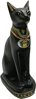 تمثال قطة فرعونية ارتفاع 18 سم - أسود