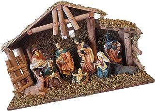 Baby Jesus Nativity Holy Family Nativity Scene Sitting with Children Scene Christmas Decorations Purelemon Nativity Set Nativity Sets for Christmas Indoor Christmas Nativity Set