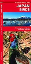 Japan Birds: A Folding Pocket Guide to Familiar Species (Wildlife and Nature Identification)