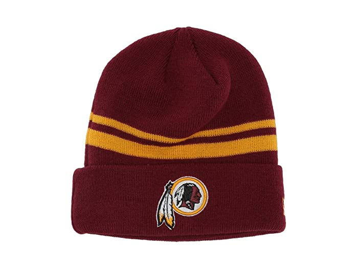 714e60526 New Era Washington Redskins Cuff Knit | Zappos.com