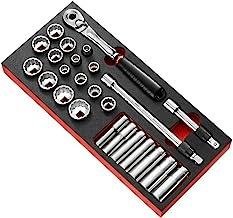 """FACOM MODM.SL2U 1/2""""vergrendeling ratel en Inch Socket Set"""