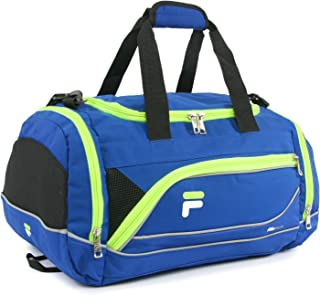 "Fila Sprinter 19"" Sport Duffel Bag, Blue/Neon"