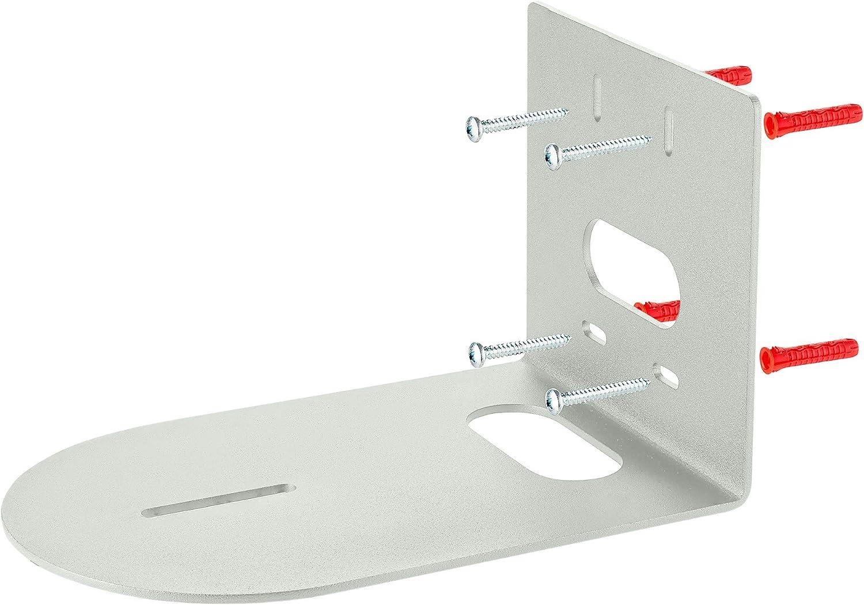 Small Universal Conference Camera Wall Mount fits Lifesize PTZOptics PTZ Camera Huddlecam HuddleCamHD - Cam Arm Bracket Replaces HCM-1-BK HCM-1-WH HCM-1 - Drywall Plastic Wood Masonry - White