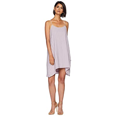 BCBGMAXAZRIA Low Back Pleated Dress (Lilac Mauve) Women