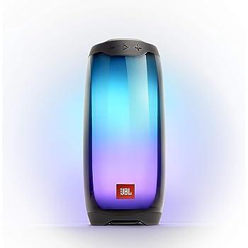 JBL Pulse 4 - Waterproof Portable Bluetooth Speaker with Light Show - Black