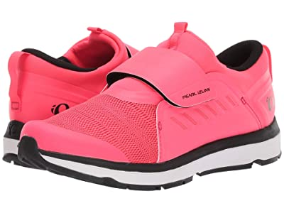 Pearl Izumi Vesta Studio Cycling Shoe (Black/Atomic Red) Women