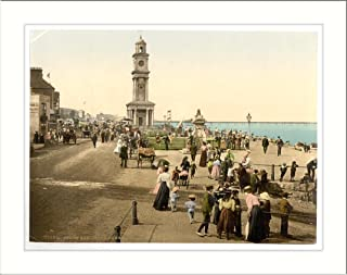 Clock tower Herne Bay England, c. 1890s, (L) Library Image