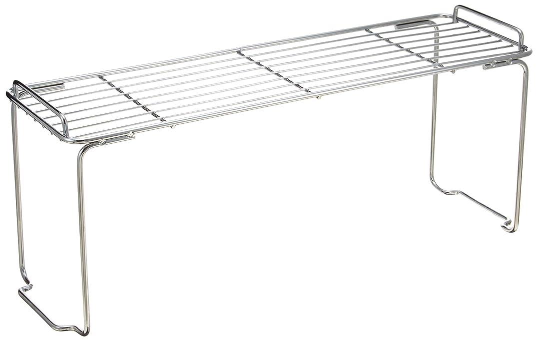 カバレッジ大とても多くのパール金属 キッチンストレージミニ 積み重ね 棚 スリム H-7825