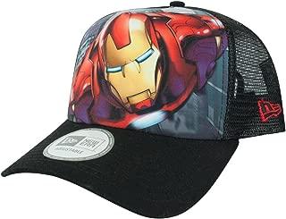 New Era Iron Man Super Truck A Frame Trucker Cap