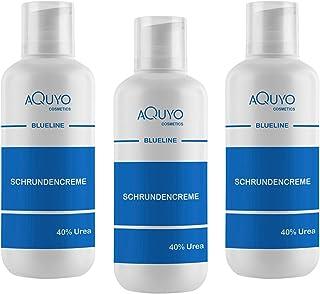 Blueline Schrundencreme 40% Urea, Fußcreme zum Hornhaut entfernen 3x 500ml | Creme für rissige Fersen und Füße, zur Behandlung von Schrunden an Händen, Ellenbogen oder Füßen