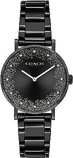 ساعة بيري بمينا بلون أسود للنساء من كوتش - 14503641