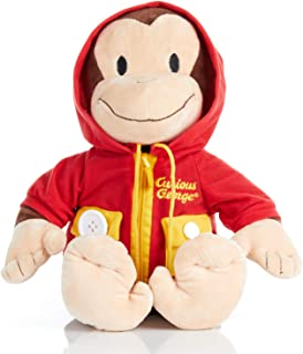 KIDS PREFERRED Curious George Learn to Dress Stuffed Animal