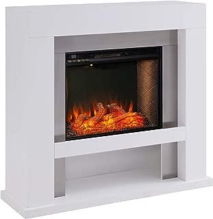 Furniture HotSpot Lirrington Stainless Steel Fireplace w/Alexa Firebox