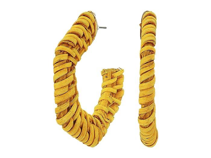 8 Other Reasons  Beach Bum Earrings (Yellow) Earring
