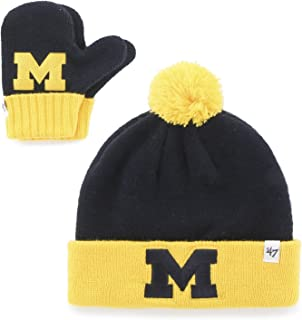'47 NCAA Infant Bam Bam Knit Hat and Mittens Set