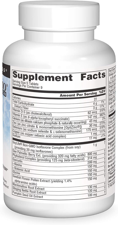 Prosta Response Ingredients