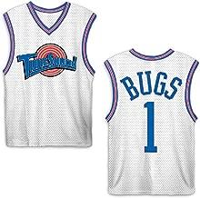 space jam Mens Classic Tank - Tune Squad Michael Jordan & Bugs Bunny Jersey 90's Classic Tank Top