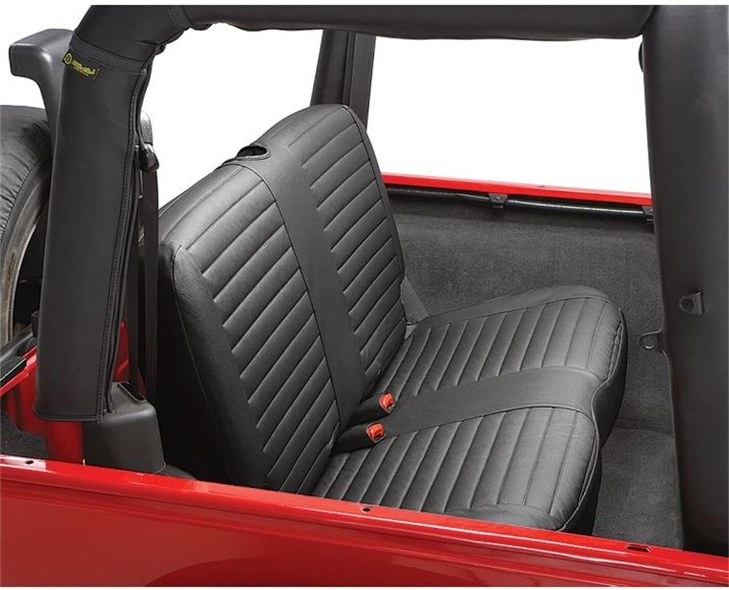 Bestop 2922935 Black Diamond Free Financial sales sale shipping Seat Covers - Rear J Bench for