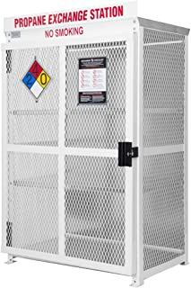STEEL - 18 CYLINDER 20# RETAIL EXCHANGE STYLE CAGE