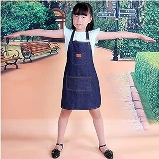 blue jean apron free pattern