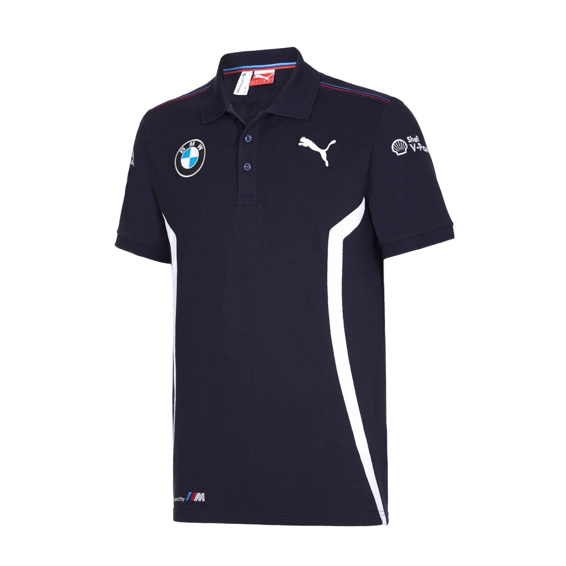 BMW Motorsport Puma DTM equipo Polo camisa, Azul (Team Blue): Amazon.es: Deportes y aire libre