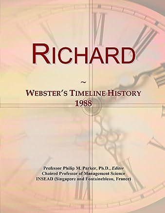 Richard: Websters Timeline History, 1988